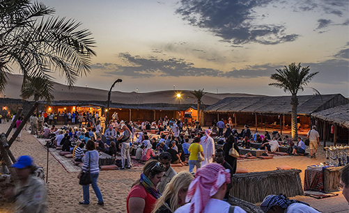 Abu Dhabi Desert Safari Camp
