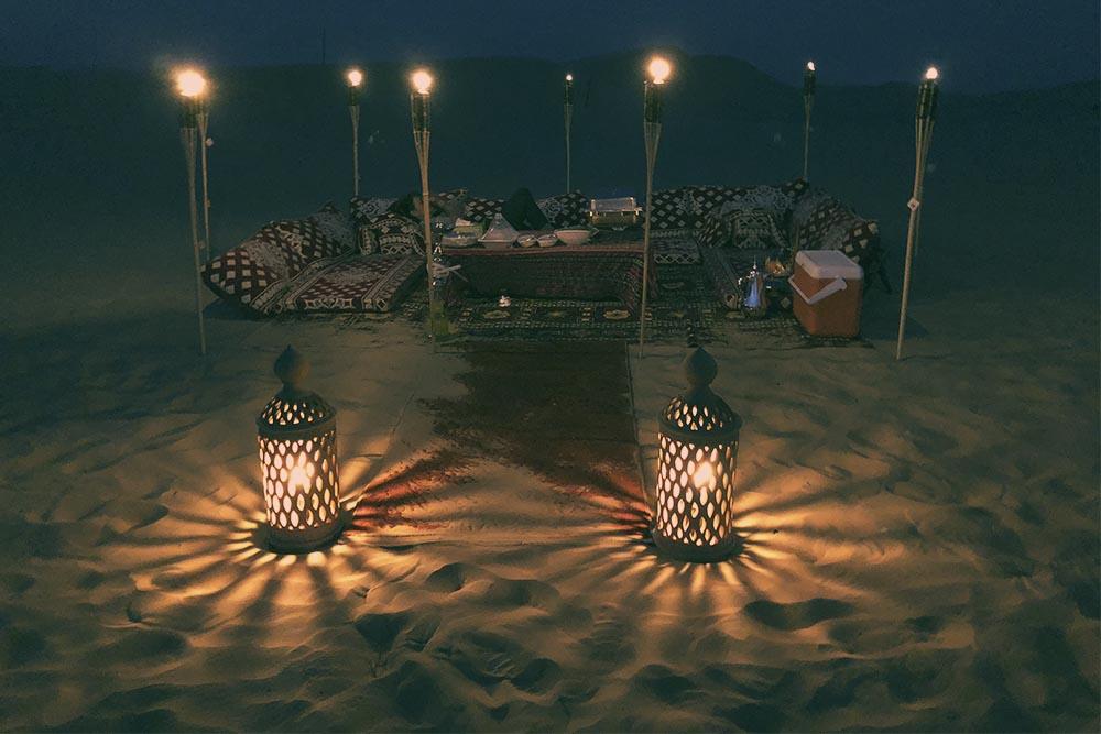 Romantic Private Dune Dinner